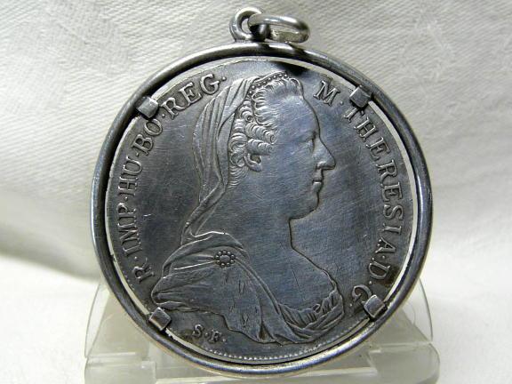 Maria Theresien Taler Schmuckstück 1780 Silber Münze Mtt Römisch