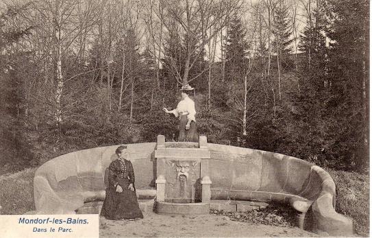 Mondorf-les-Bains Dans le Parc Schumacher - Luxemburg
