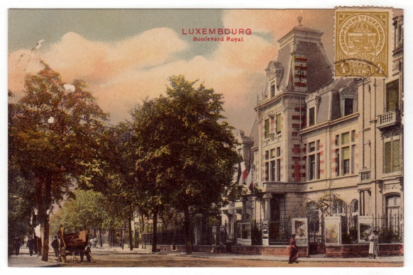 Luxembourg boulevard royal luxemburg luxemburg for Caa luxembourg
